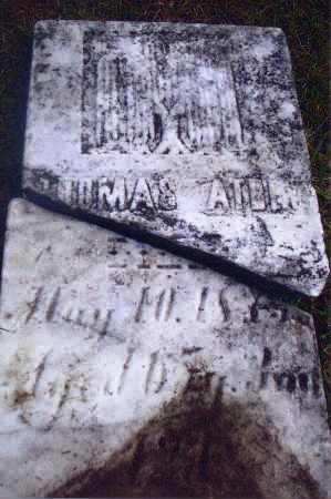 ATHEY, THOMAS - Gallia County, Ohio | THOMAS ATHEY - Ohio Gravestone Photos