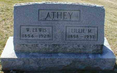 ATHEY, WILLIAM - Gallia County, Ohio | WILLIAM ATHEY - Ohio Gravestone Photos
