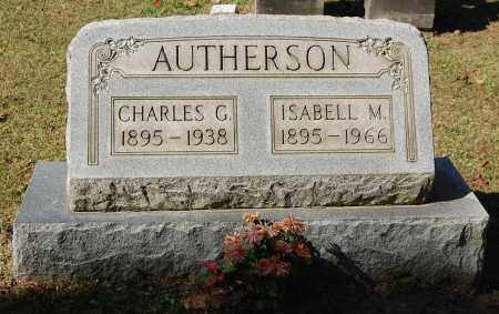 AUTHERSON, ISABELL M - Gallia County, Ohio | ISABELL M AUTHERSON - Ohio Gravestone Photos
