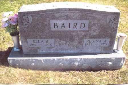 BAIRD, REGINA A. - Gallia County, Ohio | REGINA A. BAIRD - Ohio Gravestone Photos