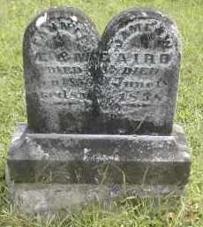 BAIRD, JAMES - Gallia County, Ohio   JAMES BAIRD - Ohio Gravestone Photos