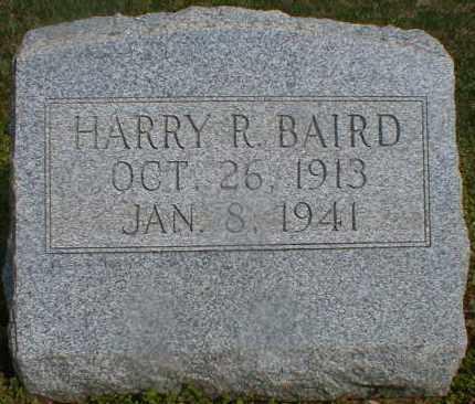 BAIRD, HARRY - Gallia County, Ohio | HARRY BAIRD - Ohio Gravestone Photos