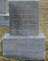 BAIRD, INFANT DAUGHTER - Gallia County, Ohio | INFANT DAUGHTER BAIRD - Ohio Gravestone Photos