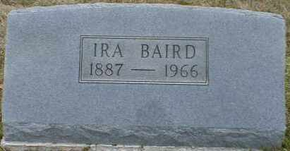 BAIRD, IRA - Gallia County, Ohio   IRA BAIRD - Ohio Gravestone Photos