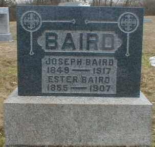 BAIRD, JOSEPH - Gallia County, Ohio | JOSEPH BAIRD - Ohio Gravestone Photos