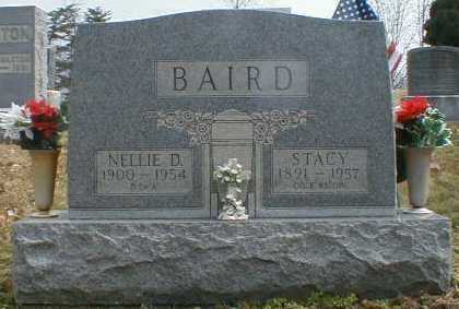 HALFHILL BAIRD, NELLIE - Gallia County, Ohio | NELLIE HALFHILL BAIRD - Ohio Gravestone Photos