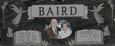 "BAIRD, OSCAR C ""CLOSE-UP"" - Gallia County, Ohio | OSCAR C ""CLOSE-UP"" BAIRD - Ohio Gravestone Photos"