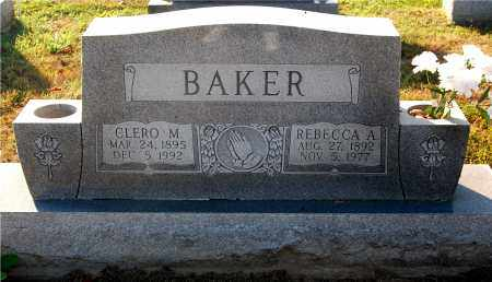 BAKER, REBECCA A - Gallia County, Ohio | REBECCA A BAKER - Ohio Gravestone Photos