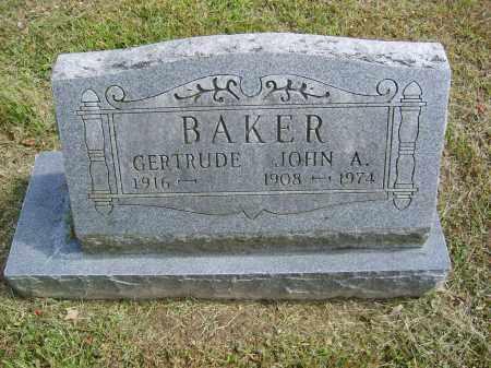 BAKER, GERTRUDE - Gallia County, Ohio | GERTRUDE BAKER - Ohio Gravestone Photos