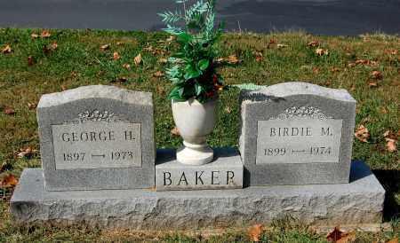 BAKER, GEORGE H. - Gallia County, Ohio   GEORGE H. BAKER - Ohio Gravestone Photos
