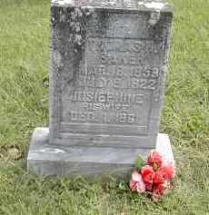 BAKER, THOMAS - Gallia County, Ohio | THOMAS BAKER - Ohio Gravestone Photos