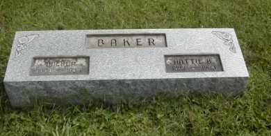 BAKER, WILBUR - Gallia County, Ohio | WILBUR BAKER - Ohio Gravestone Photos