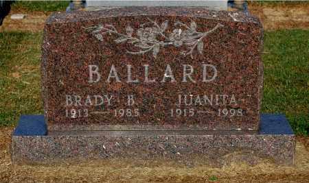 BALLARD, BRADY B - Gallia County, Ohio | BRADY B BALLARD - Ohio Gravestone Photos