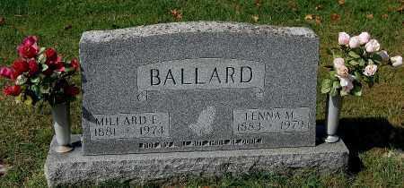 BALLARD, LENNA M. - Gallia County, Ohio | LENNA M. BALLARD - Ohio Gravestone Photos