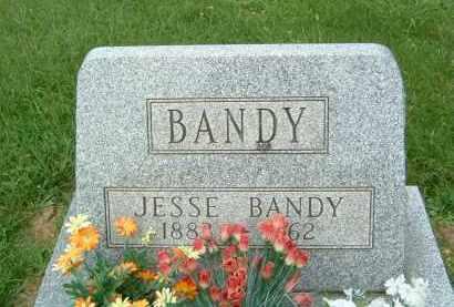 BANDY, JESSE - Gallia County, Ohio   JESSE BANDY - Ohio Gravestone Photos