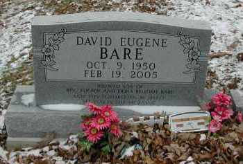 BARE, DAVID - Gallia County, Ohio | DAVID BARE - Ohio Gravestone Photos