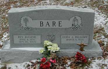 BELLOMY BARE, DORA J. - Gallia County, Ohio | DORA J. BELLOMY BARE - Ohio Gravestone Photos