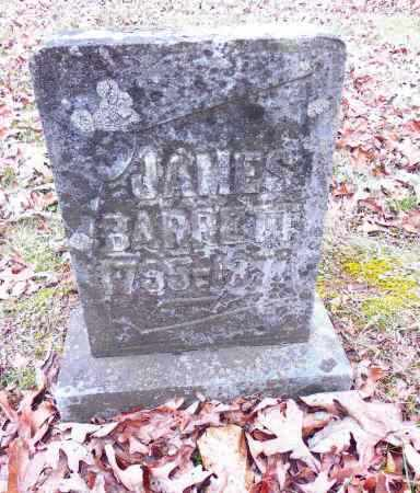 BARRETT, JAMES - Gallia County, Ohio | JAMES BARRETT - Ohio Gravestone Photos