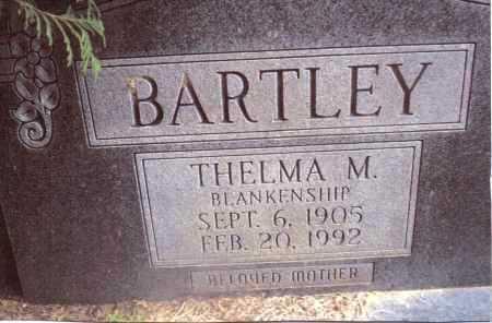 BLANKENSHIP BARTLEY, THELMA M. - Gallia County, Ohio | THELMA M. BLANKENSHIP BARTLEY - Ohio Gravestone Photos