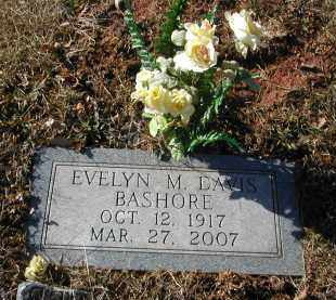 DAVIS BASHORE, EVELYN M. - Gallia County, Ohio | EVELYN M. DAVIS BASHORE - Ohio Gravestone Photos