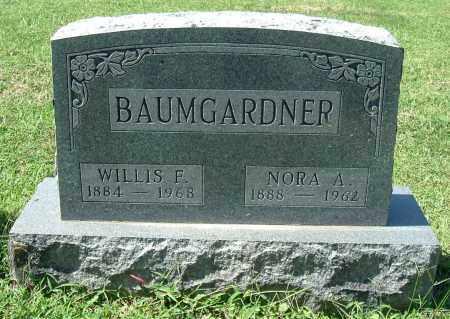 BAUMGARDNER, NORA A - Gallia County, Ohio | NORA A BAUMGARDNER - Ohio Gravestone Photos
