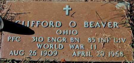 BEAVER, CLIFFORD O. - Gallia County, Ohio | CLIFFORD O. BEAVER - Ohio Gravestone Photos