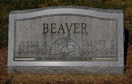 BEAVER, JESSIE A - Gallia County, Ohio   JESSIE A BEAVER - Ohio Gravestone Photos