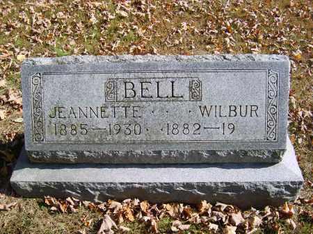 BELL, WILBUR - Gallia County, Ohio | WILBUR BELL - Ohio Gravestone Photos