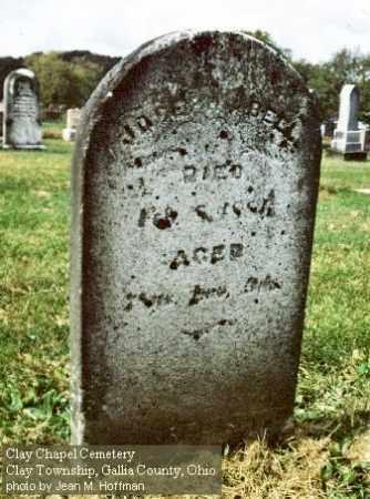BELL, JOSEPH - Gallia County, Ohio | JOSEPH BELL - Ohio Gravestone Photos
