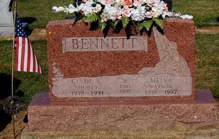 WATSON BENNETT, MELVA - Gallia County, Ohio | MELVA WATSON BENNETT - Ohio Gravestone Photos