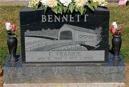 BENNETT, E FRANKIE - Gallia County, Ohio | E FRANKIE BENNETT - Ohio Gravestone Photos