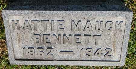 BENNETT, HATTIE - Gallia County, Ohio | HATTIE BENNETT - Ohio Gravestone Photos
