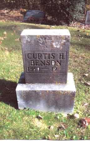 BENSON, CURTIS H. - Gallia County, Ohio | CURTIS H. BENSON - Ohio Gravestone Photos