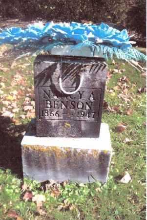 BENSON, NANCY A. - Gallia County, Ohio | NANCY A. BENSON - Ohio Gravestone Photos