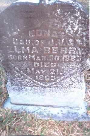 BERRY, EDNA - Gallia County, Ohio   EDNA BERRY - Ohio Gravestone Photos