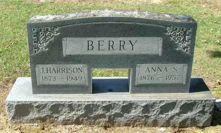 BERRY, J HARRISON - Gallia County, Ohio   J HARRISON BERRY - Ohio Gravestone Photos