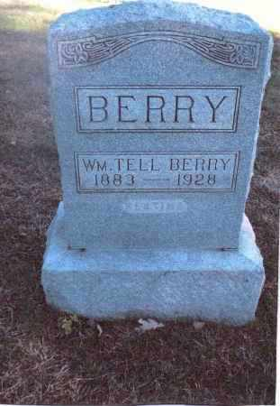 BERRY, WILLIAM TELL - Gallia County, Ohio   WILLIAM TELL BERRY - Ohio Gravestone Photos