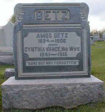 BETZ, AMOS - Gallia County, Ohio | AMOS BETZ - Ohio Gravestone Photos