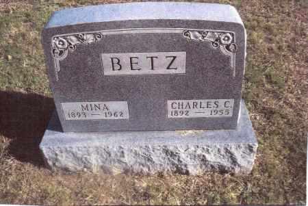 BETZ, CHARLES C. - Gallia County, Ohio | CHARLES C. BETZ - Ohio Gravestone Photos