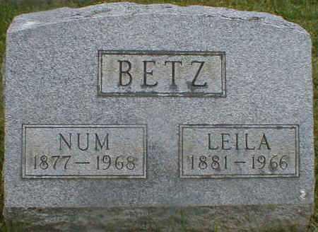 BETZ, LEILA - Gallia County, Ohio | LEILA BETZ - Ohio Gravestone Photos