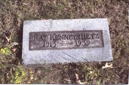 BETZ, RAY KENNETH - Gallia County, Ohio   RAY KENNETH BETZ - Ohio Gravestone Photos