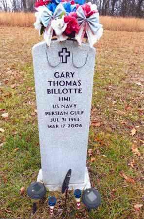 BILLOTTE, GARY THOMAS - Gallia County, Ohio | GARY THOMAS BILLOTTE - Ohio Gravestone Photos