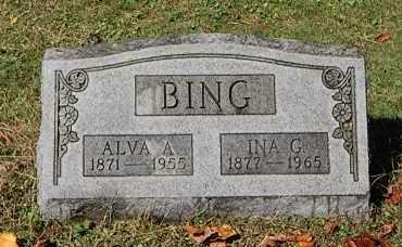 BING, ALVA A - Gallia County, Ohio | ALVA A BING - Ohio Gravestone Photos