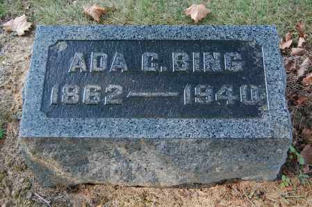 BING, ADA C - Gallia County, Ohio | ADA C BING - Ohio Gravestone Photos