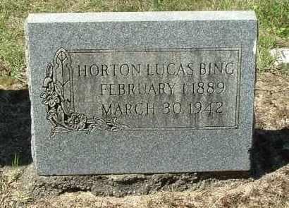 BING, HORTON LUCAS - Gallia County, Ohio | HORTON LUCAS BING - Ohio Gravestone Photos