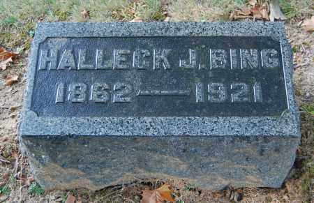 BING, HALLECK J - Gallia County, Ohio   HALLECK J BING - Ohio Gravestone Photos
