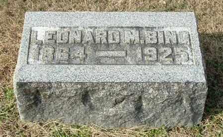 BING, LEONARD M - Gallia County, Ohio | LEONARD M BING - Ohio Gravestone Photos