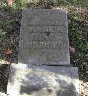 BING, MARION - Gallia County, Ohio | MARION BING - Ohio Gravestone Photos