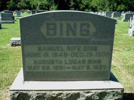 LUCAS BING, AUGUSTA MAY - Gallia County, Ohio | AUGUSTA MAY LUCAS BING - Ohio Gravestone Photos