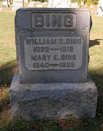 BING, WILLIAM C - Gallia County, Ohio | WILLIAM C BING - Ohio Gravestone Photos
